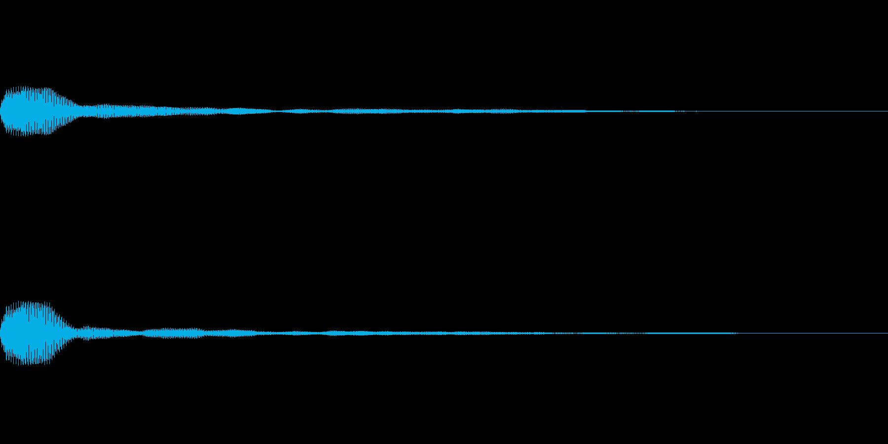 プッ(タイトルメニュー_オンマウス03)の再生済みの波形