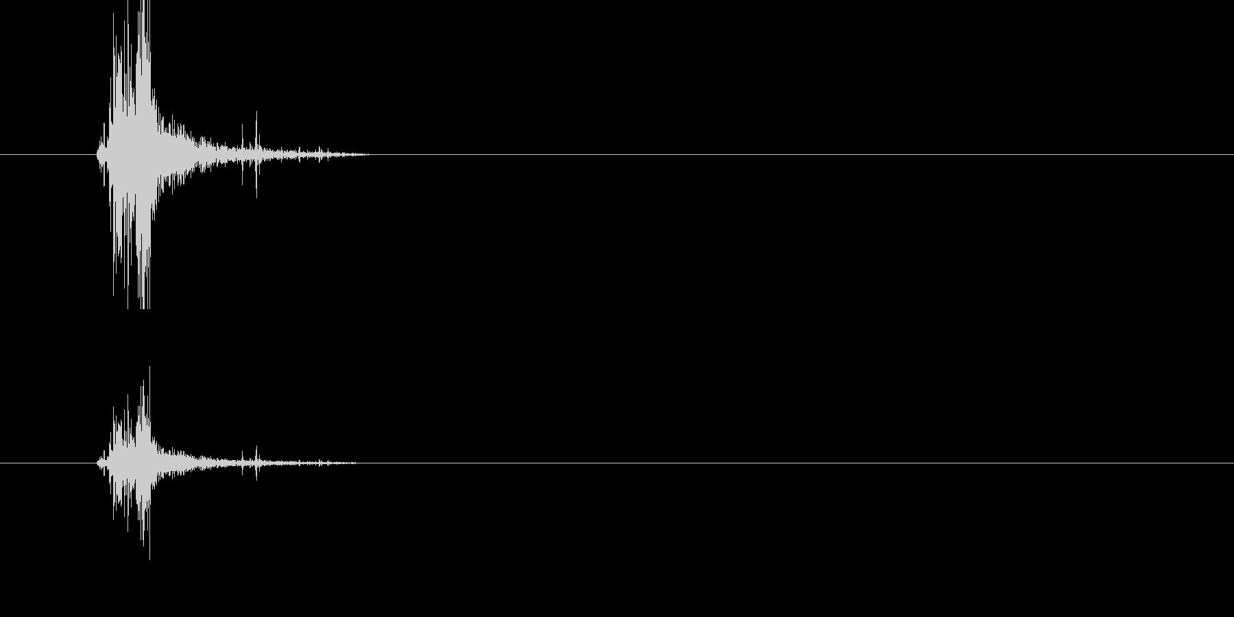 アイテム取得音(薬・弾薬系)の未再生の波形
