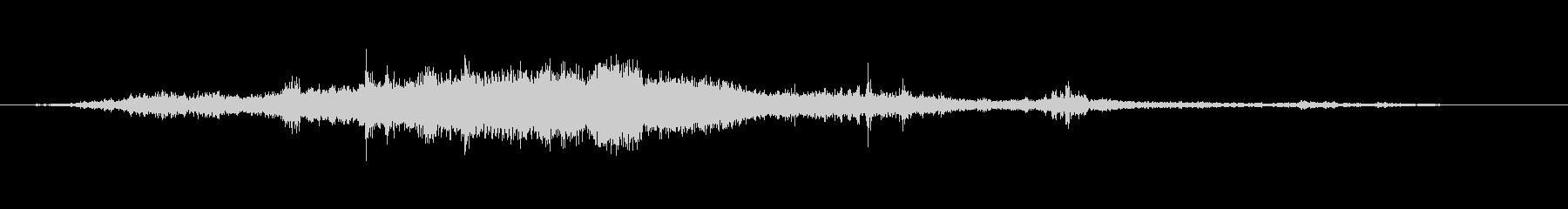【環境音】飛行機の音02(羽田)の未再生の波形