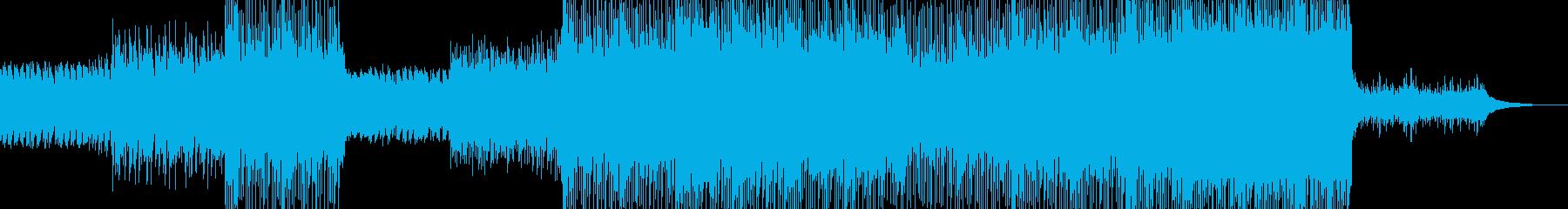 少年時代 清涼感溢れるBGMの再生済みの波形