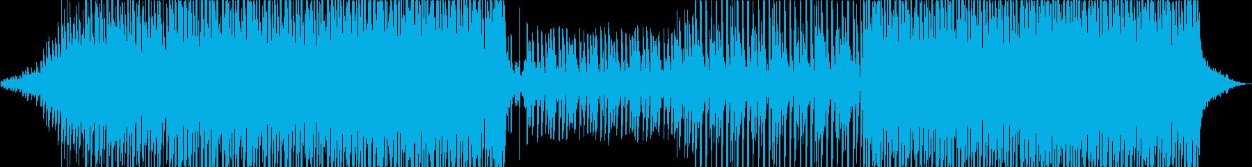 Motivational musicの再生済みの波形