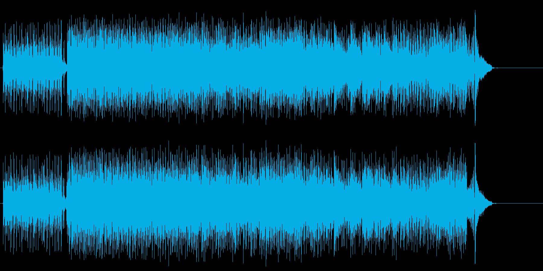 無機質なエレクトリック・ポップスの再生済みの波形