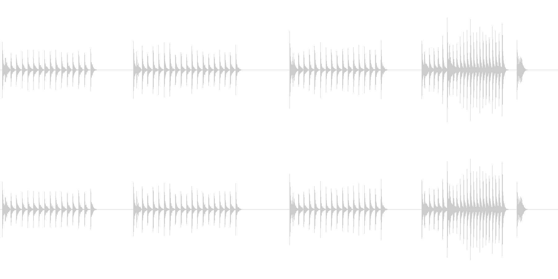 大太鼓22山ヲロシ歌舞伎情景描写和風和太の未再生の波形