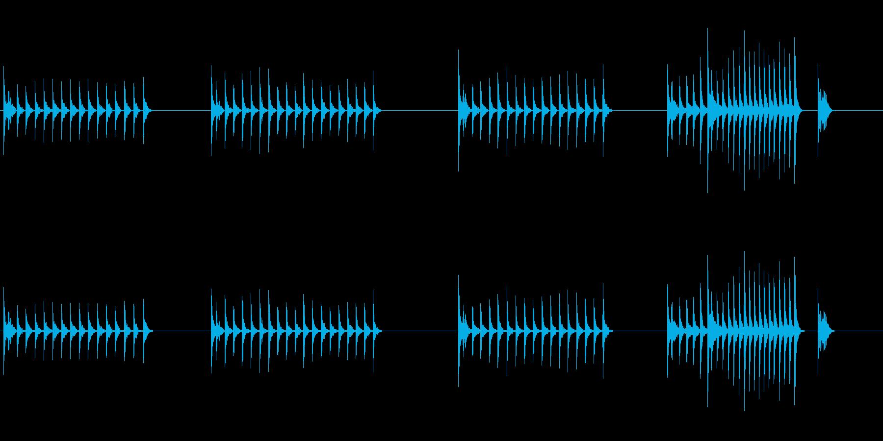 大太鼓22山ヲロシ歌舞伎情景描写和風和太の再生済みの波形