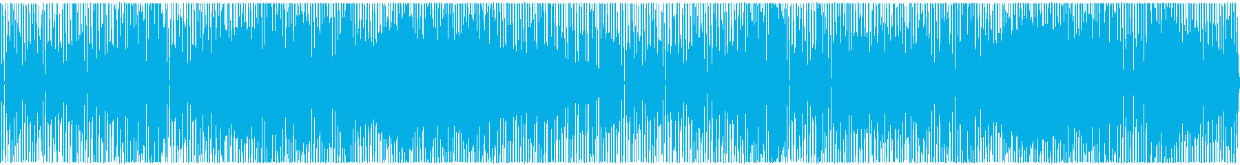 心がウキウキ踊るような明るく弾むBGMの再生済みの波形