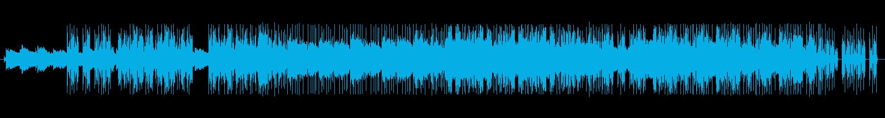 リズミカルで幻想的なアンビエントテクノの再生済みの波形