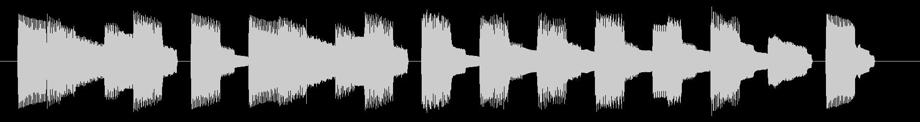 NES スポーツ A03-3(ミス1)の未再生の波形