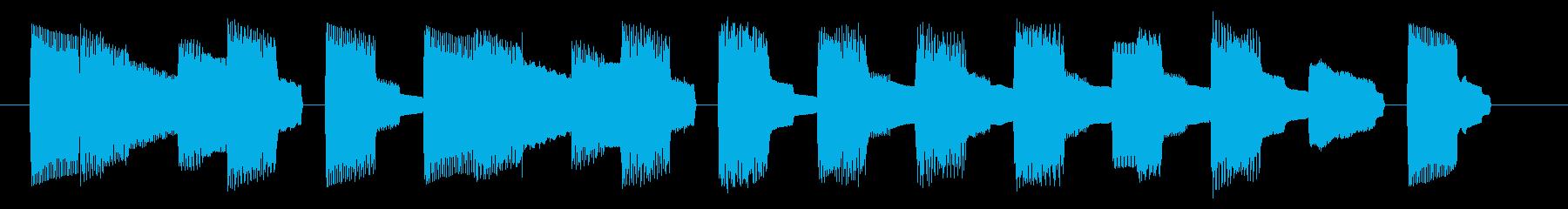 NES スポーツ A03-3(ミス1)の再生済みの波形