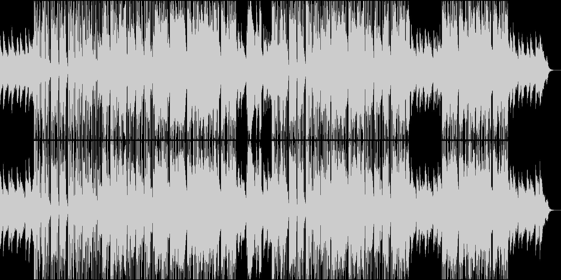 優しく暖かく心に響く歌声・洋楽Popsの未再生の波形