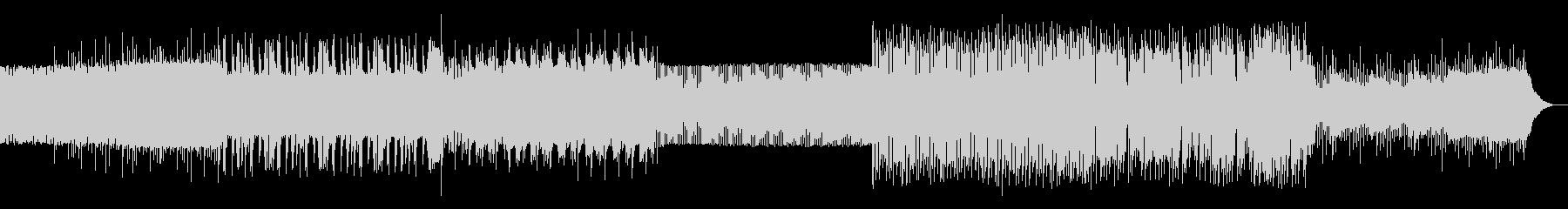 シンプルなアルペジオのテクノ07の未再生の波形