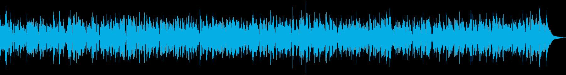 ボサノバアルトサックスの再生済みの波形