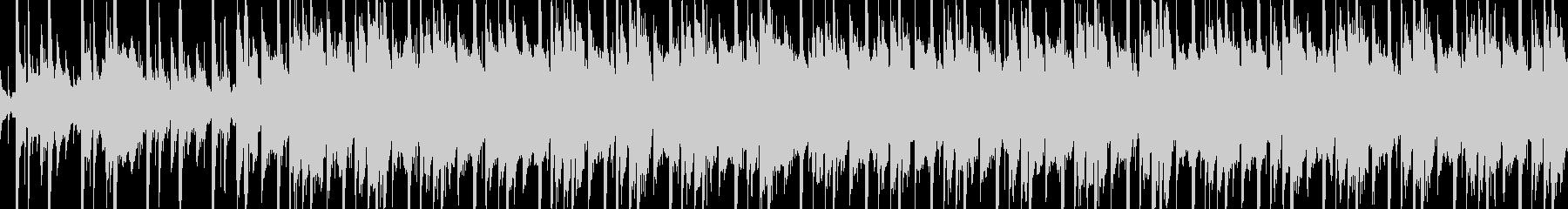 メロトロンの響きが回想シーンを思わせる曲の未再生の波形