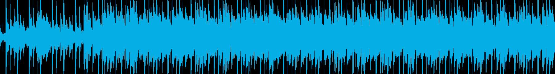 メロトロンの響きが回想シーンを思わせる曲の再生済みの波形