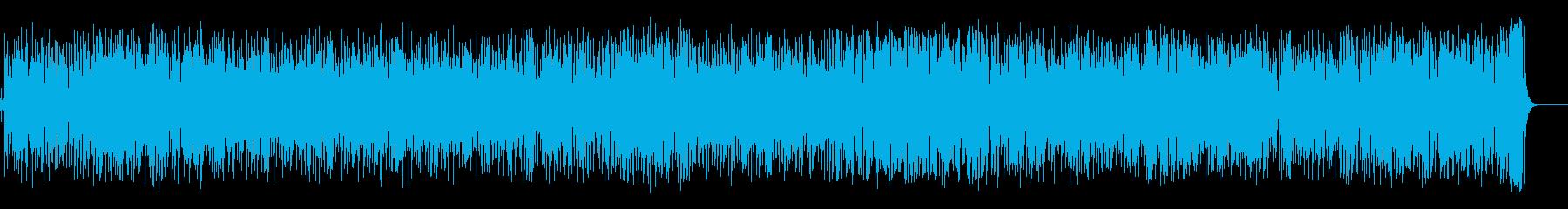 日本の海!お囃子盆踊り調夏祭り風音頭の再生済みの波形