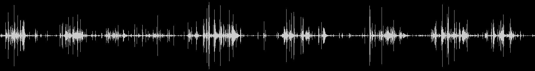 チェーンメタルムーブメント静かなbの未再生の波形
