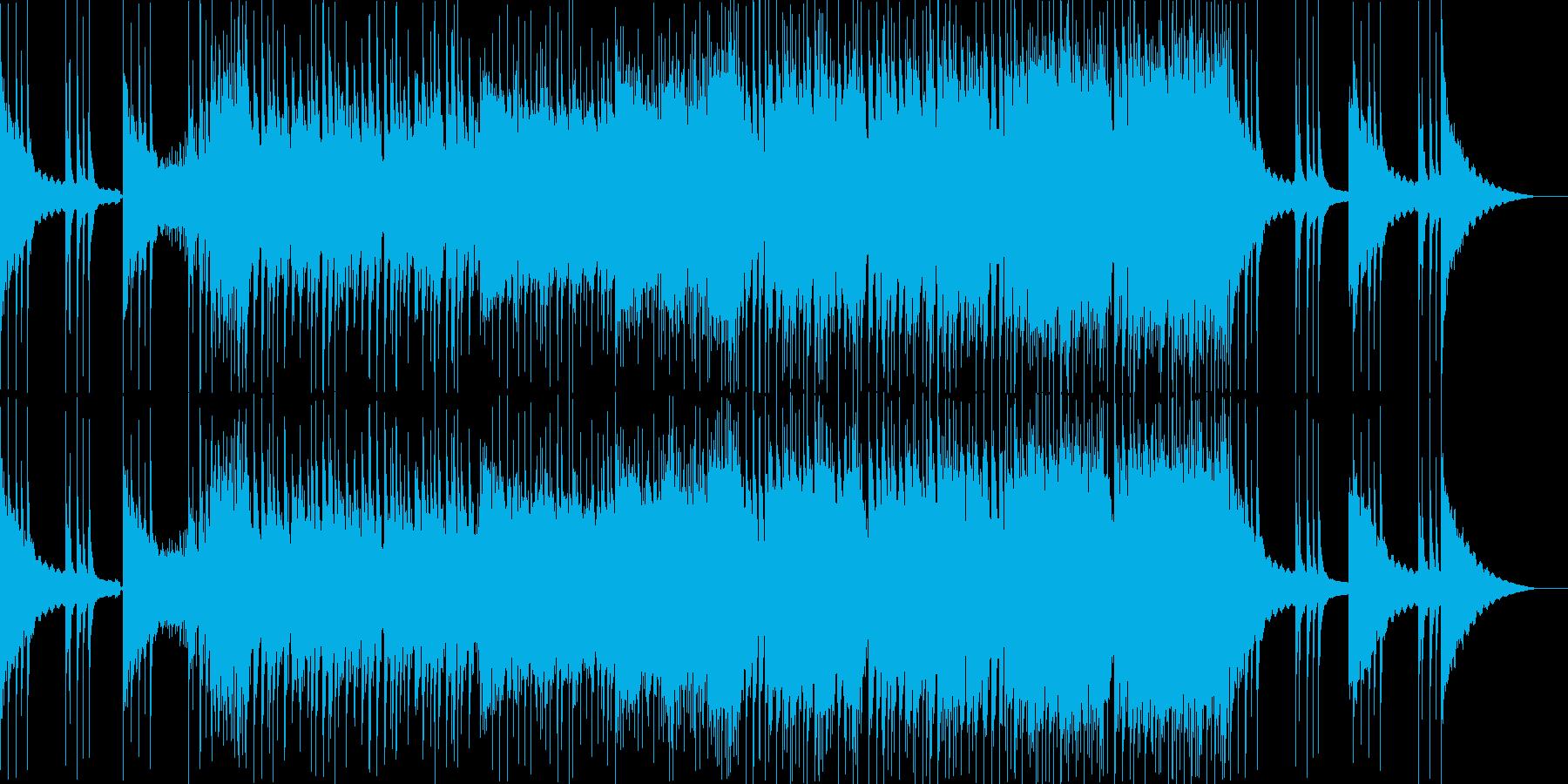 三味線+琴の近未来的でクールなEDMの再生済みの波形