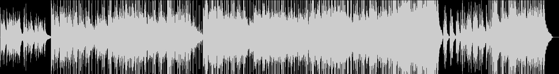 ピアノの旋律が印象的なバラード曲の未再生の波形