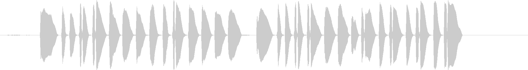 Bugle PlaysΓÇÿtat...の未再生の波形