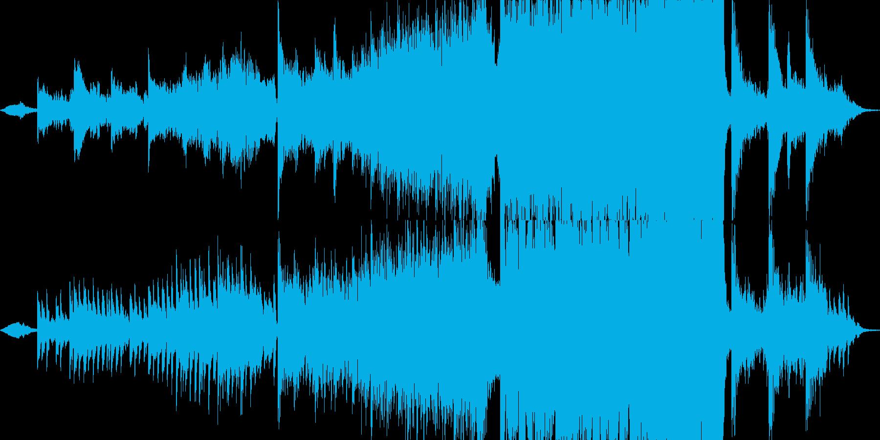 現代的 交響曲 バトル 焦り 広い...の再生済みの波形