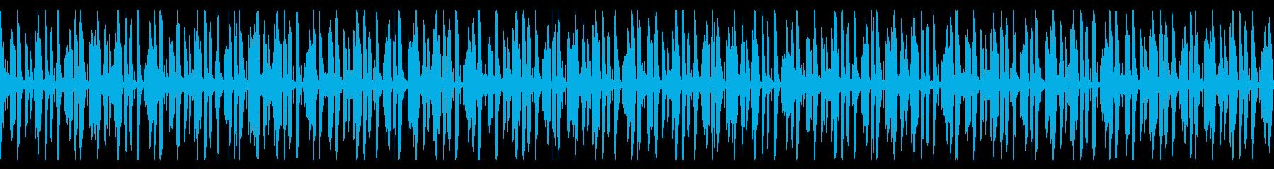 アップテンポなFuture Bassの再生済みの波形
