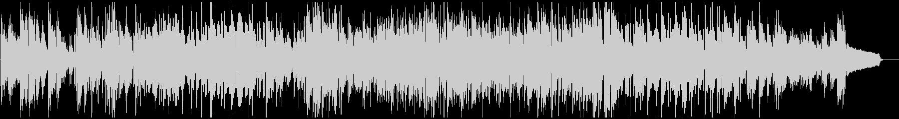 メロディアスおしゃれボサノバ、サックスの未再生の波形