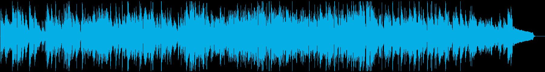 メロディアスおしゃれボサノバ、サックスの再生済みの波形