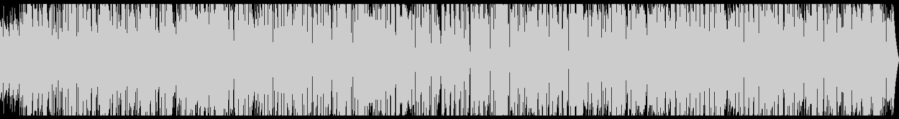 ロックオルガンの優しいバラードジャズの未再生の波形