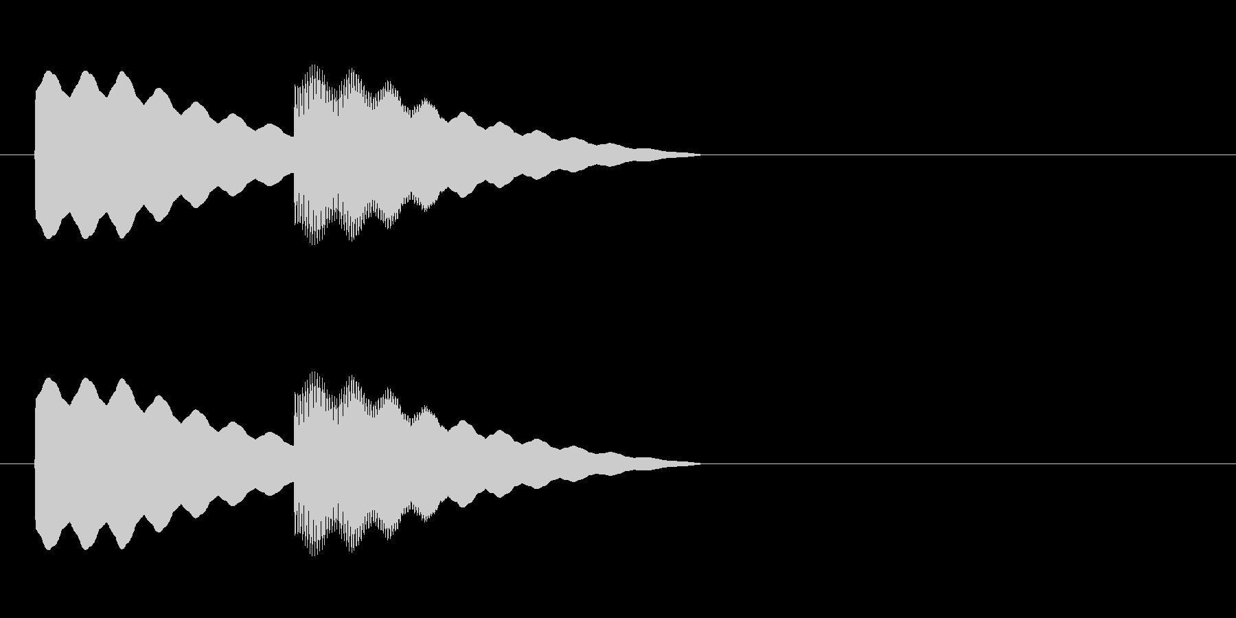 【ドアベル ピンポン01-1】の未再生の波形