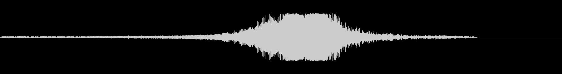 ジェットパスfの未再生の波形
