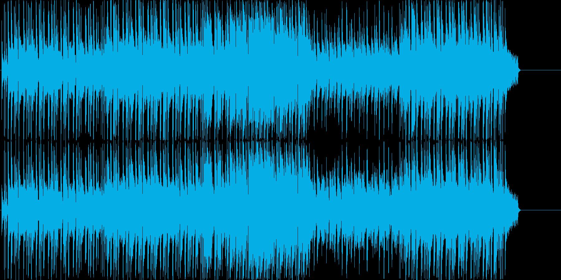 ヘヴィロック 説明的 静か 楽しげ...の再生済みの波形