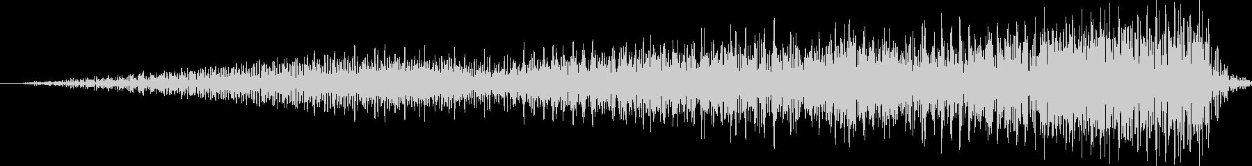 SE 高音ノイズ ギューンUPの未再生の波形