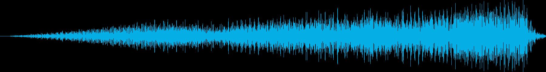 SE 高音ノイズ ギューンUPの再生済みの波形