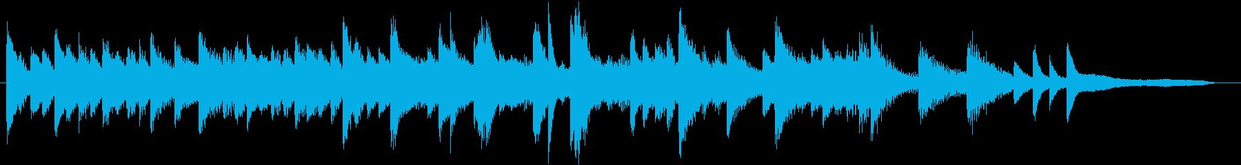 もろびとこぞりてモチーフピアノジングルBの再生済みの波形