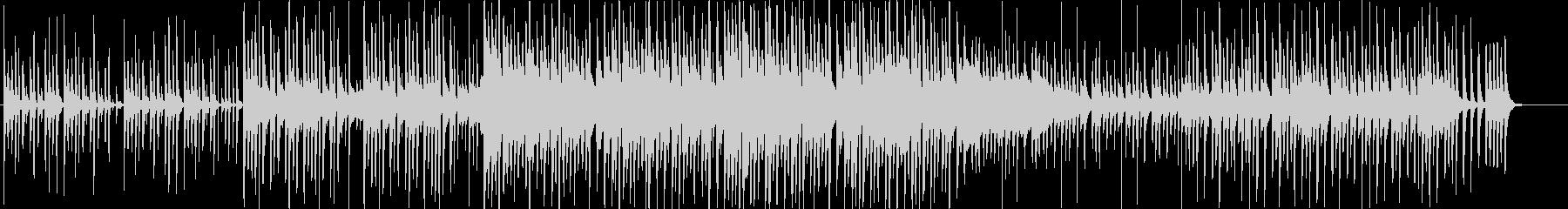 トロピカルで可愛い木琴ポップスの未再生の波形