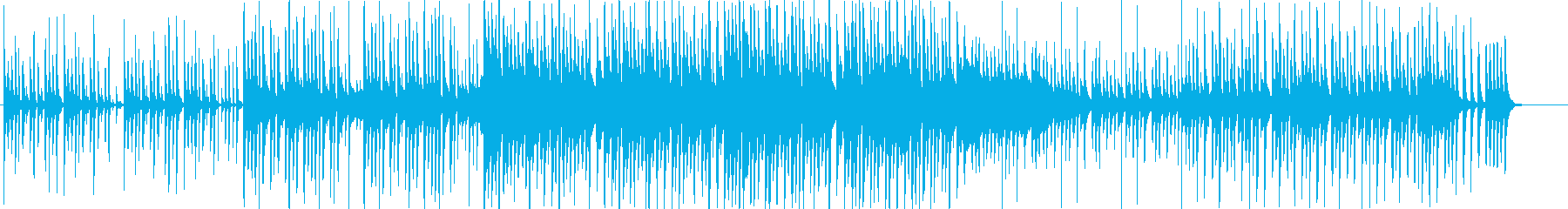 トロピカルで可愛い木琴ポップスの再生済みの波形