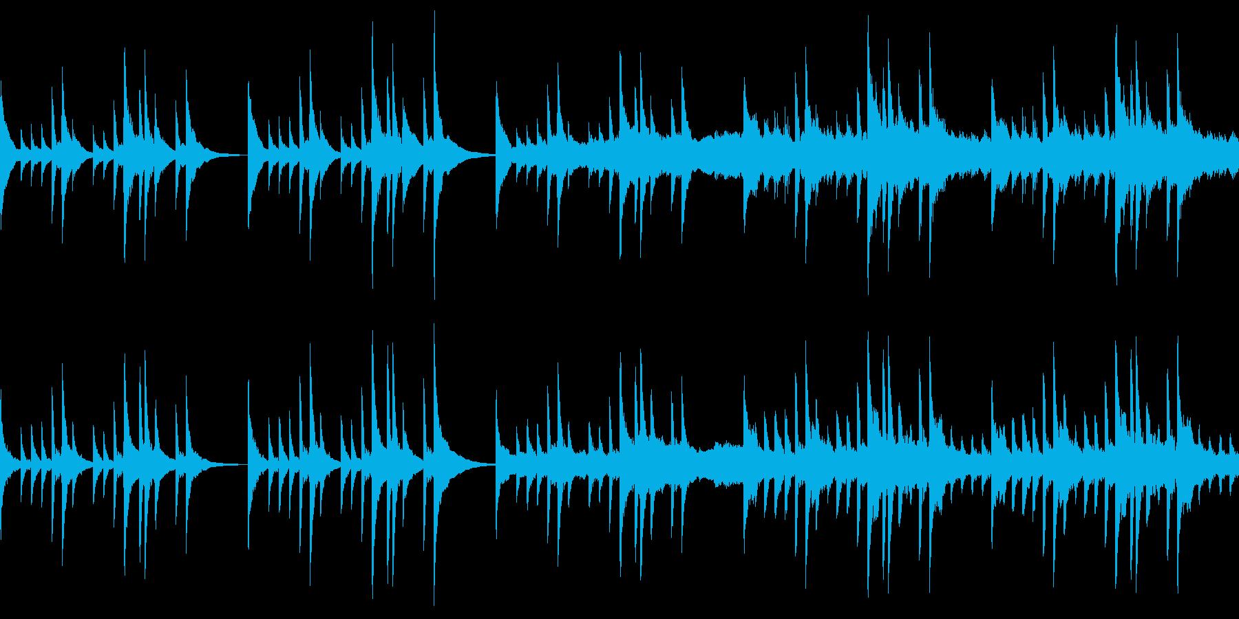 幻想的なピアノと弦楽器 RPGの再生済みの波形