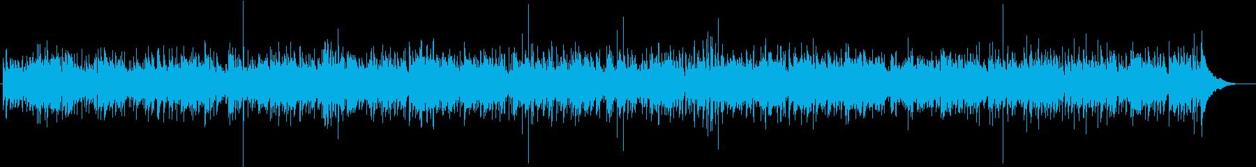 ほんわかカントリーの再生済みの波形