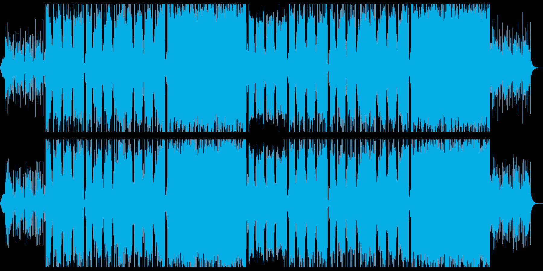 切なくパーカッシブなエレクトロニカ。の再生済みの波形