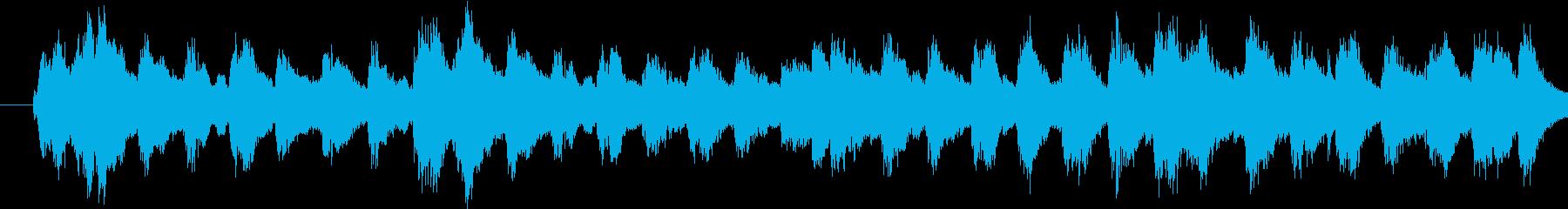 迫力ある響きでファンタジーなメロディーの再生済みの波形