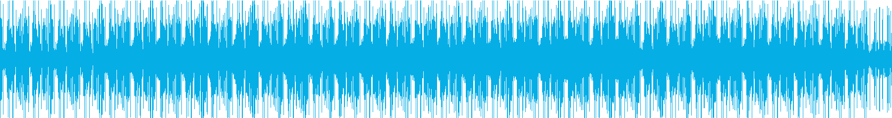 湖面のさざめきの再生済みの波形