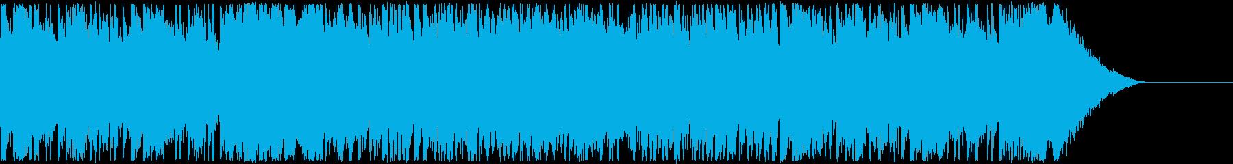 エキサイティングなCM・男性ボーカルの再生済みの波形