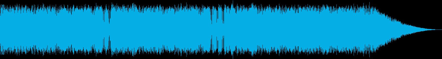 ロカビリーなオケーストラの再生済みの波形