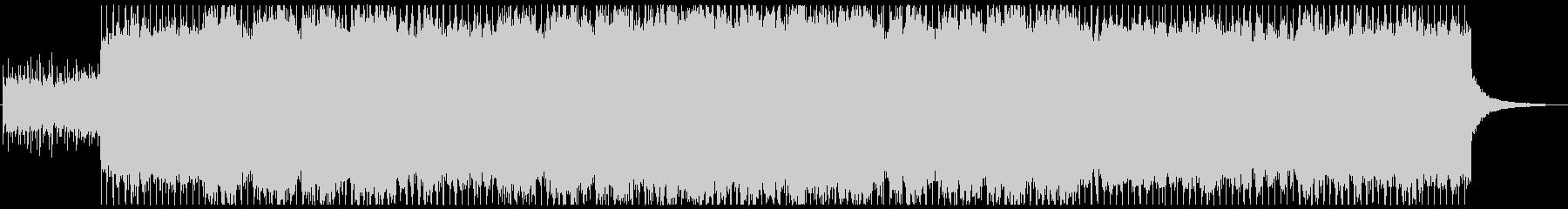 疾走感ある切なくも暖かいアコギアルペジオの未再生の波形