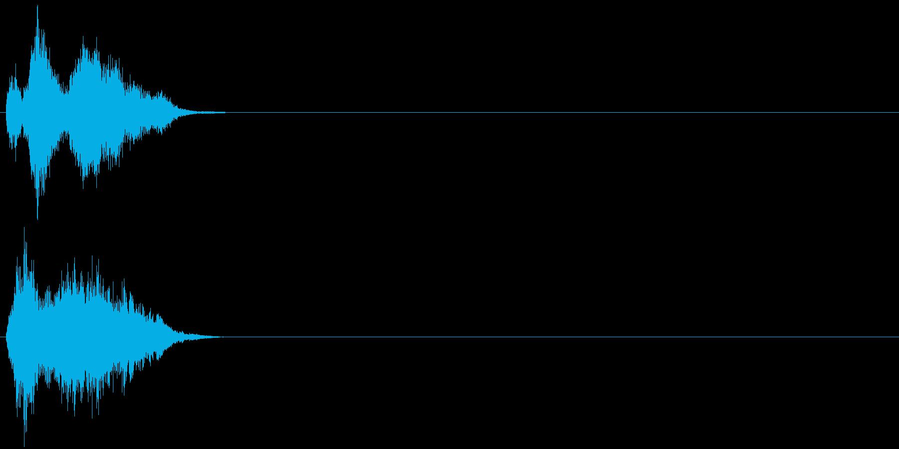 【ゲーム1】刀 シャキン ジャキン 金属の再生済みの波形