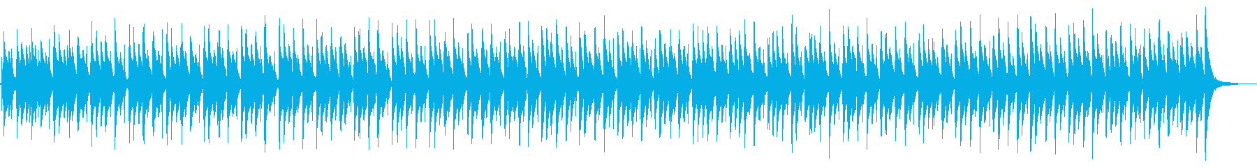 ラテンボルカノパーカッショングロー...の再生済みの波形