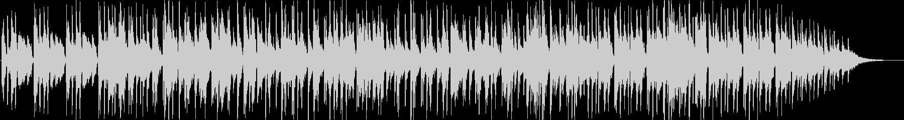 サスペンスの雰囲気のジャズの未再生の波形