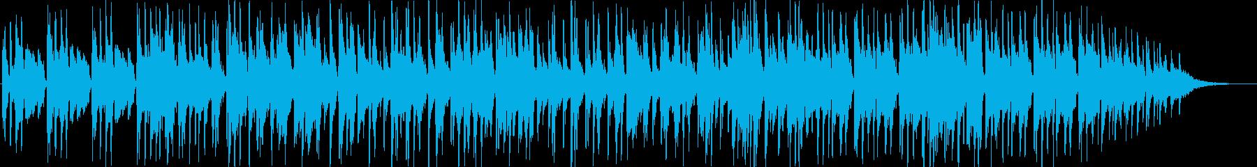 サスペンスの雰囲気のジャズの再生済みの波形