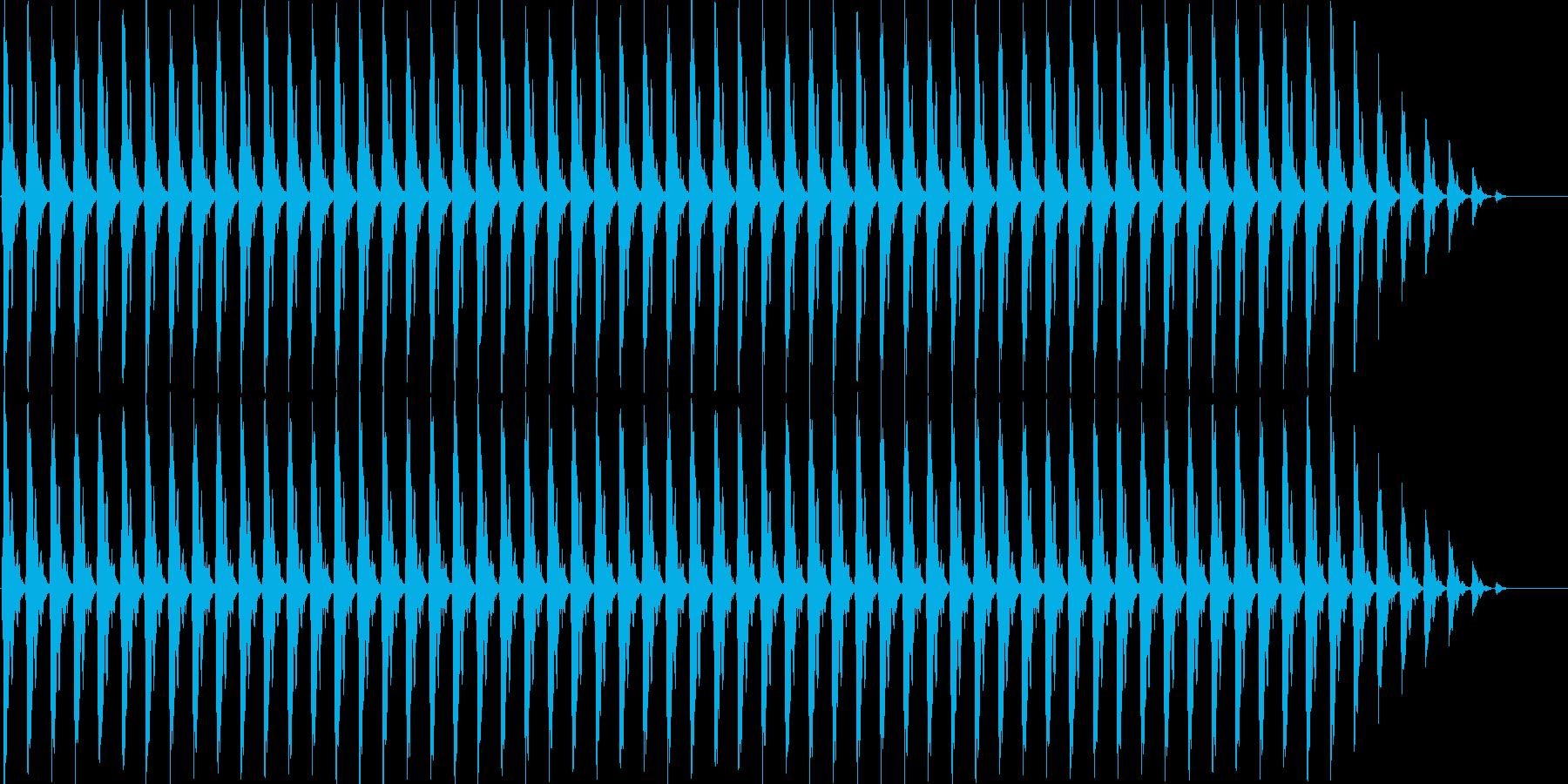 クリスマスの鈴(テンポ遅い)の再生済みの波形