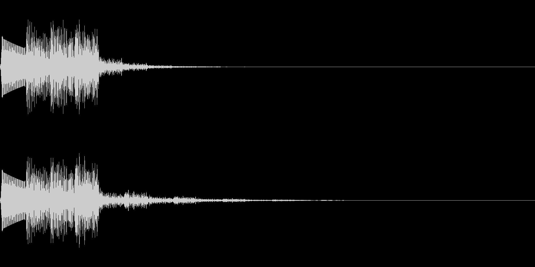 ティリリリ(ミス/死亡/失敗/ファミコンの未再生の波形