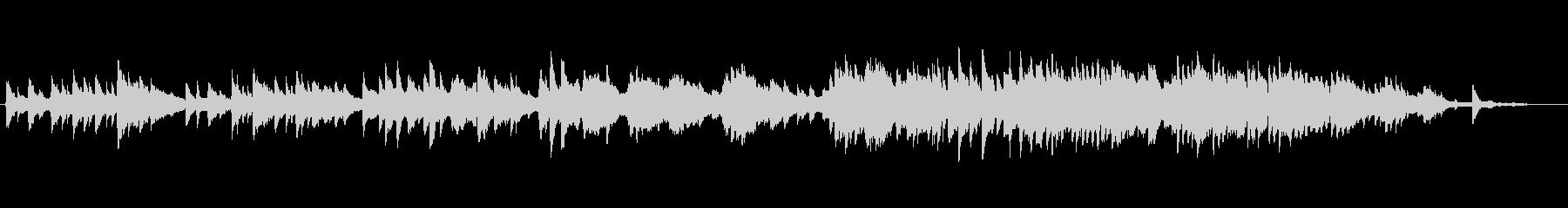 ラヴェルっぽいピアノ曲の未再生の波形